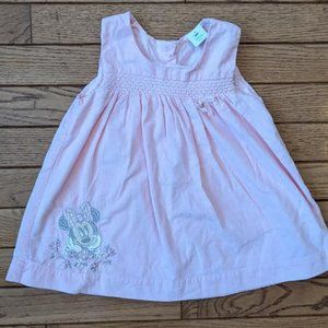 Disney Minnie Mouse Pink Dress